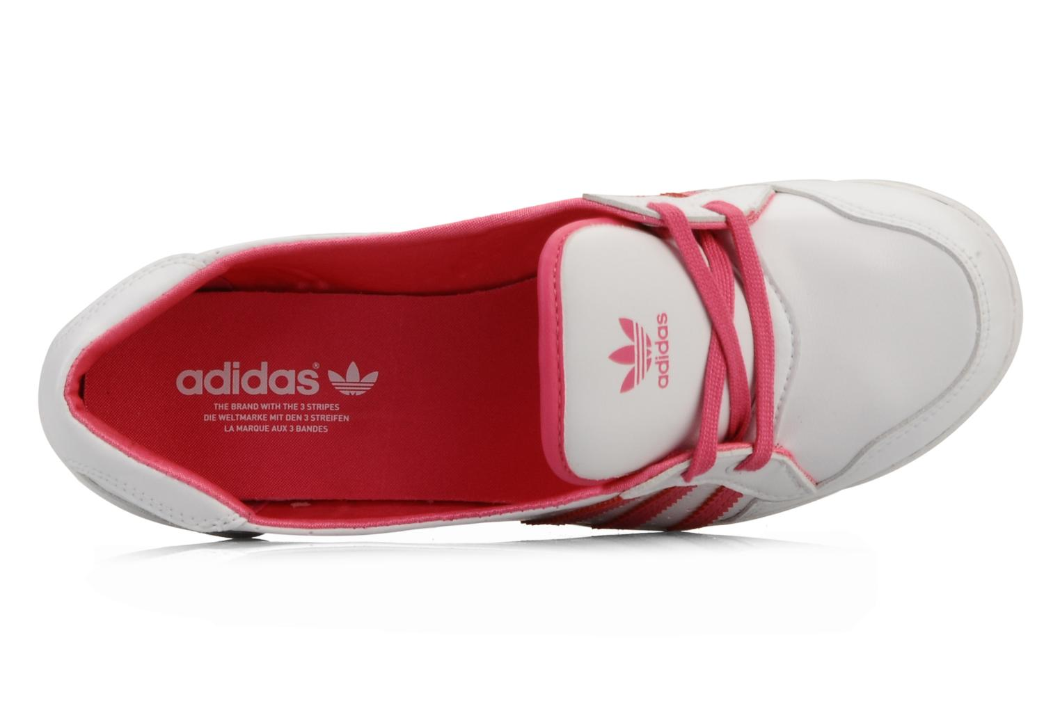 Ballerina's Adidas Originals Forum slipper Wit links