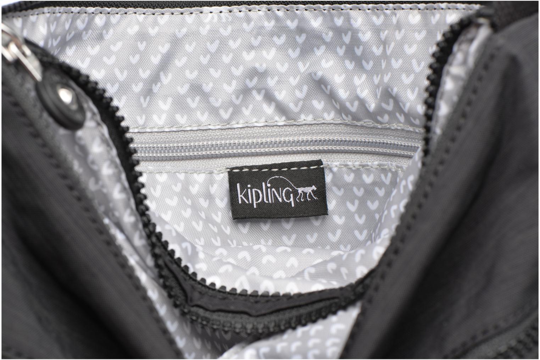 Handtassen kipling Alvar Zwart achterkant