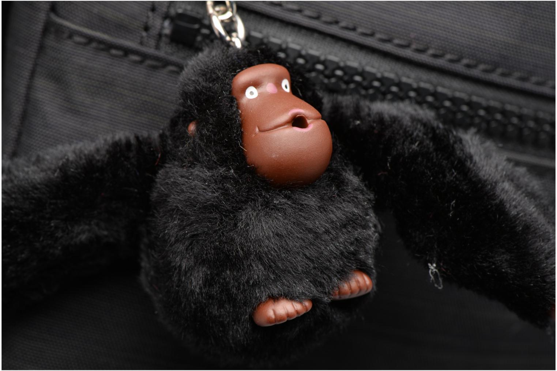 Handtaschen kipling Alvar schwarz ansicht von links