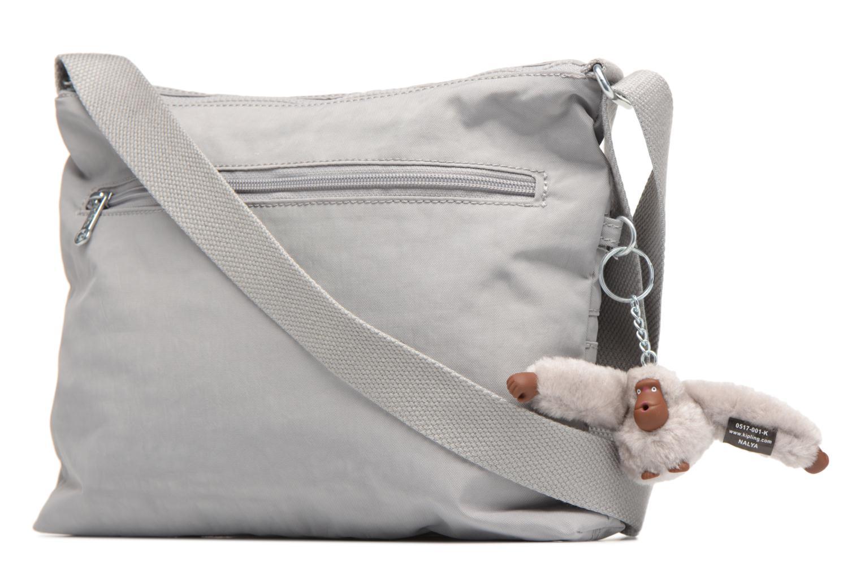 Handtaschen Kipling Alvar grau ansicht von rechts