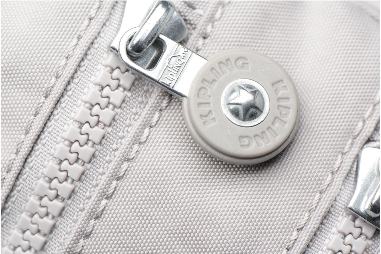 Handtaschen Kipling Alvar grau ansicht von links