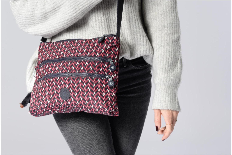 Handtaschen Kipling Alvar grau ansicht von oben