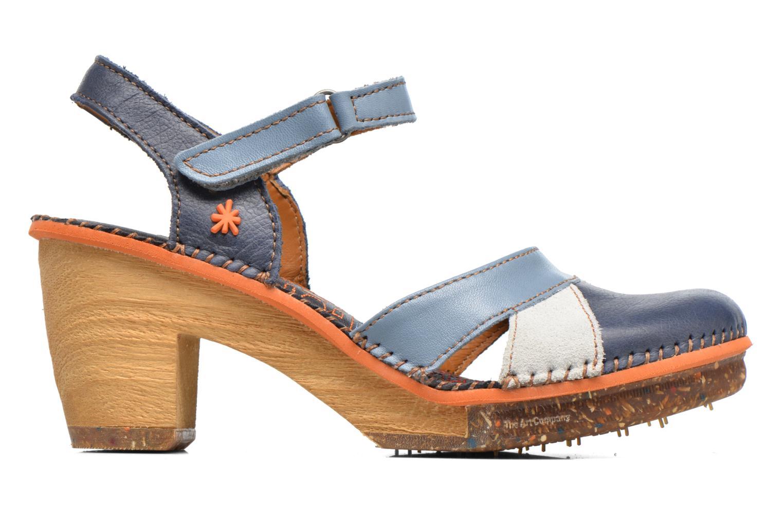 Sandales et nu-pieds Art Amsterdam 313 Bleu vue derrière