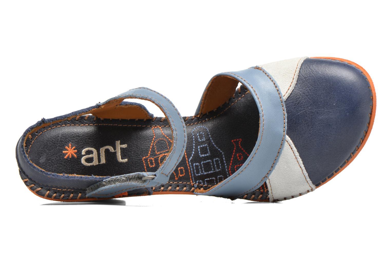 Sandales et nu-pieds Art Amsterdam 313 Bleu vue gauche