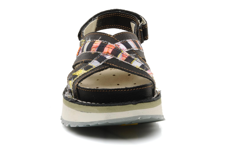 Sandales et nu-pieds Art Bio 028 Noir vue portées chaussures