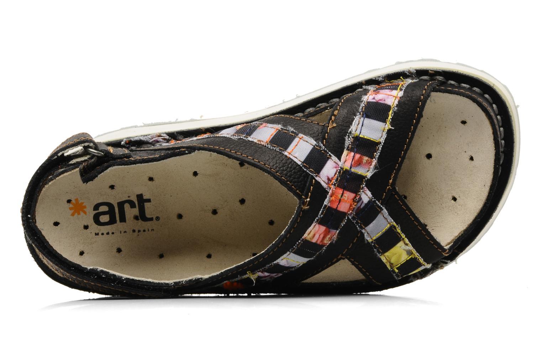 Sandales et nu-pieds Art Bio 028 Noir vue gauche