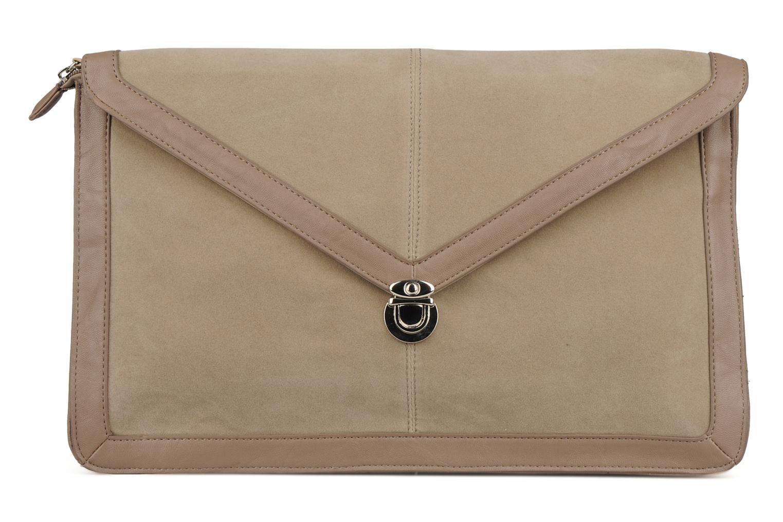 Clutch Friis & company Vintage clutch Beige detail