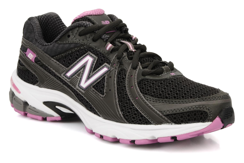 Chaussures de sport New Balance Wr620 Noir vue détail/paire