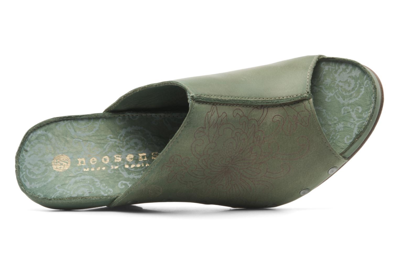 Clogs & Pantoletten Neosens Muscat s283 grün ansicht von links