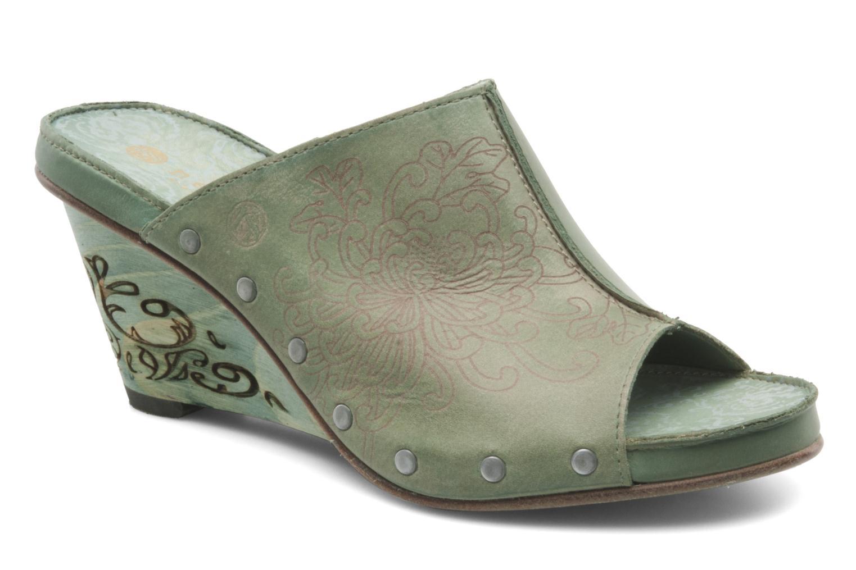 Clogs & Pantoletten Neosens Muscat s283 grün detaillierte ansicht/modell