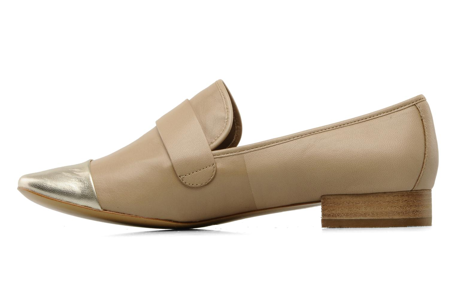 Loafers Belle Eddy Beige front view