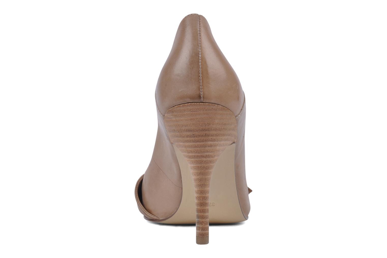 Zapatos de tacón Guess Tress Beige vista lateral derecha