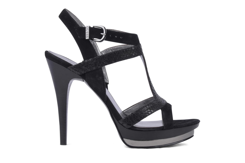 Sandales et nu-pieds Guess Balize Noir vue derrière