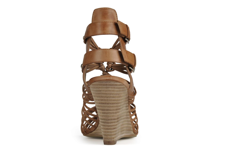 Sandali e scarpe aperte Guess Oblated Marrone immagine destra