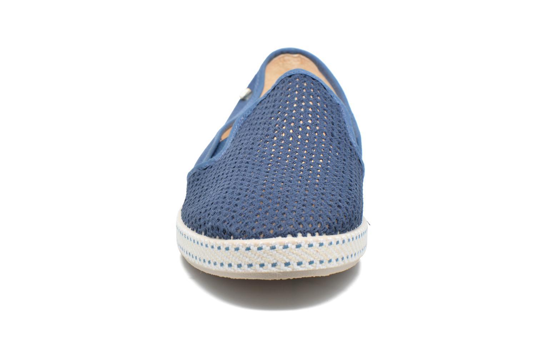 Slipper Rivieras 20°c m blau schuhe getragen