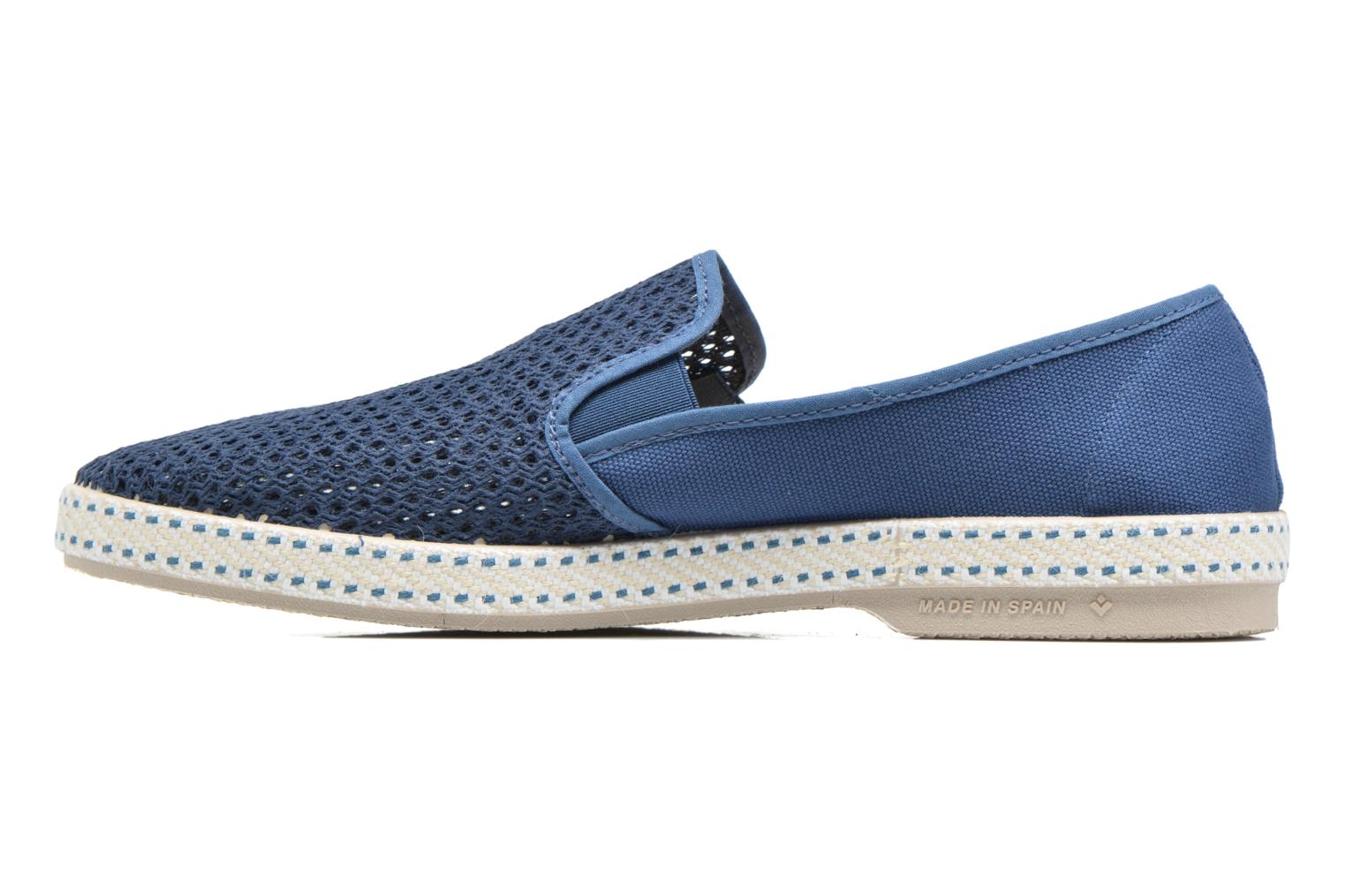 Loafers Rivieras 20°c m Blue front view