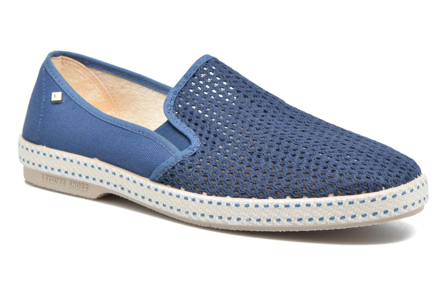 Loafers Rivieras 20°c m Blue detailed view/ Pair view