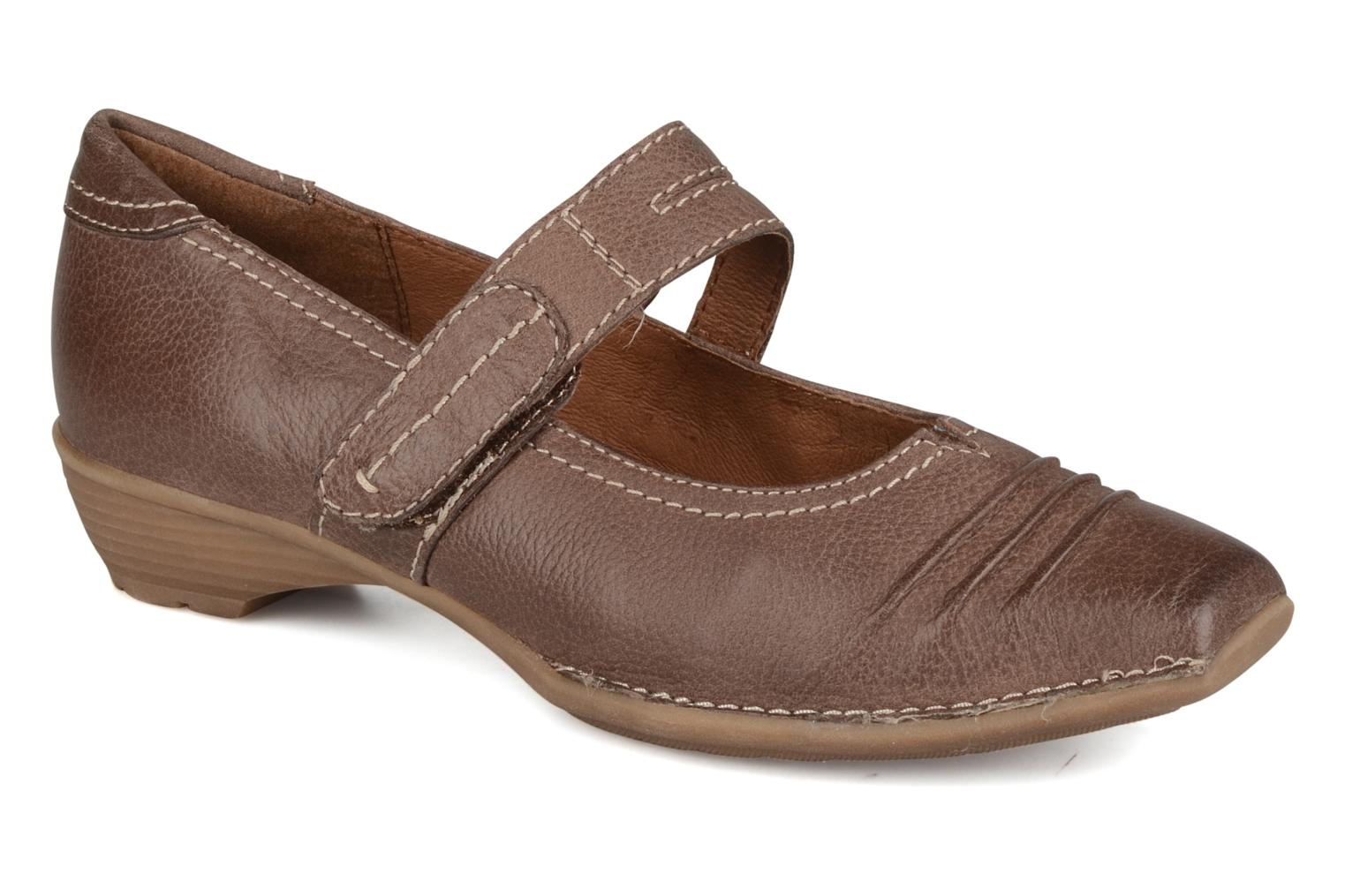 Jeanne Taupe leather
