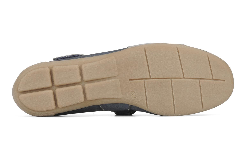 Joeylla Navy comb leather