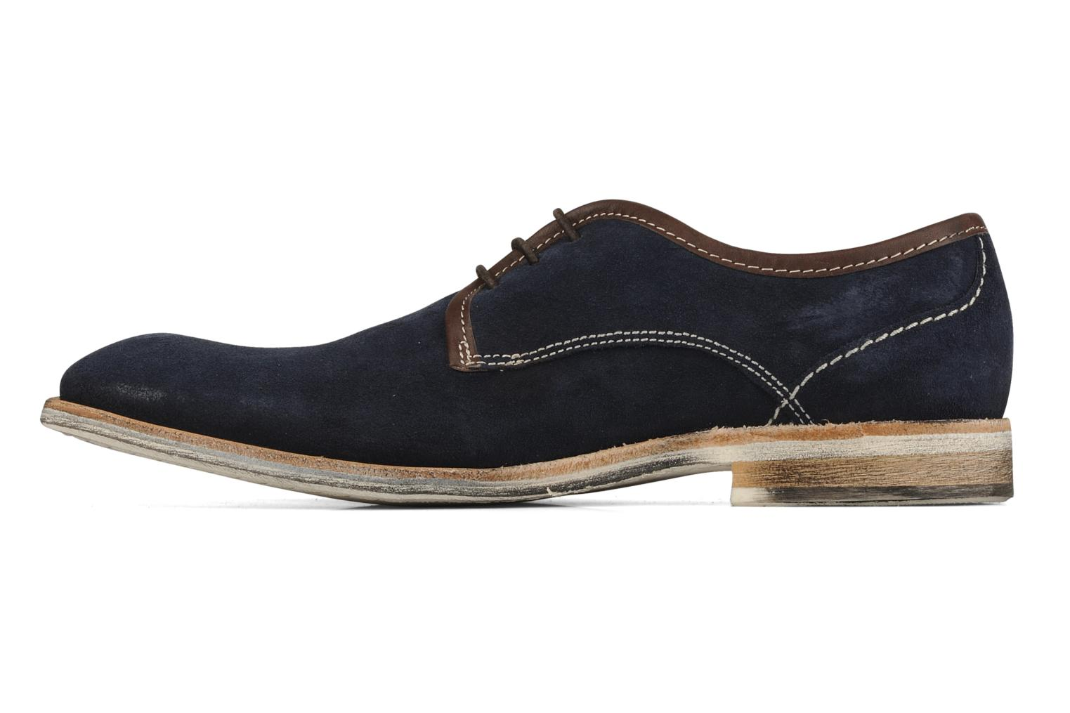 Lace-up shoes H by Hudson Rourke Blue front view