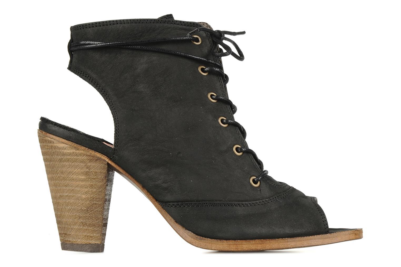 Sandales et nu-pieds H By Hudson Henshaw Noir vue derrière
