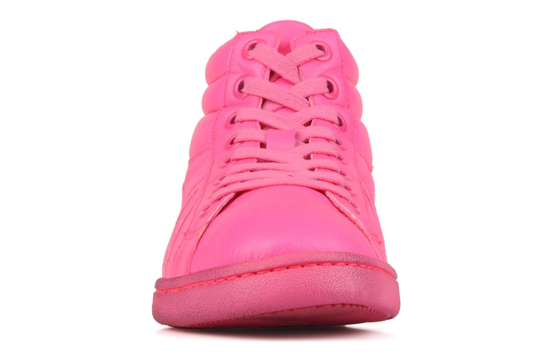 Baskets Ash Clash Rose vue portées chaussures