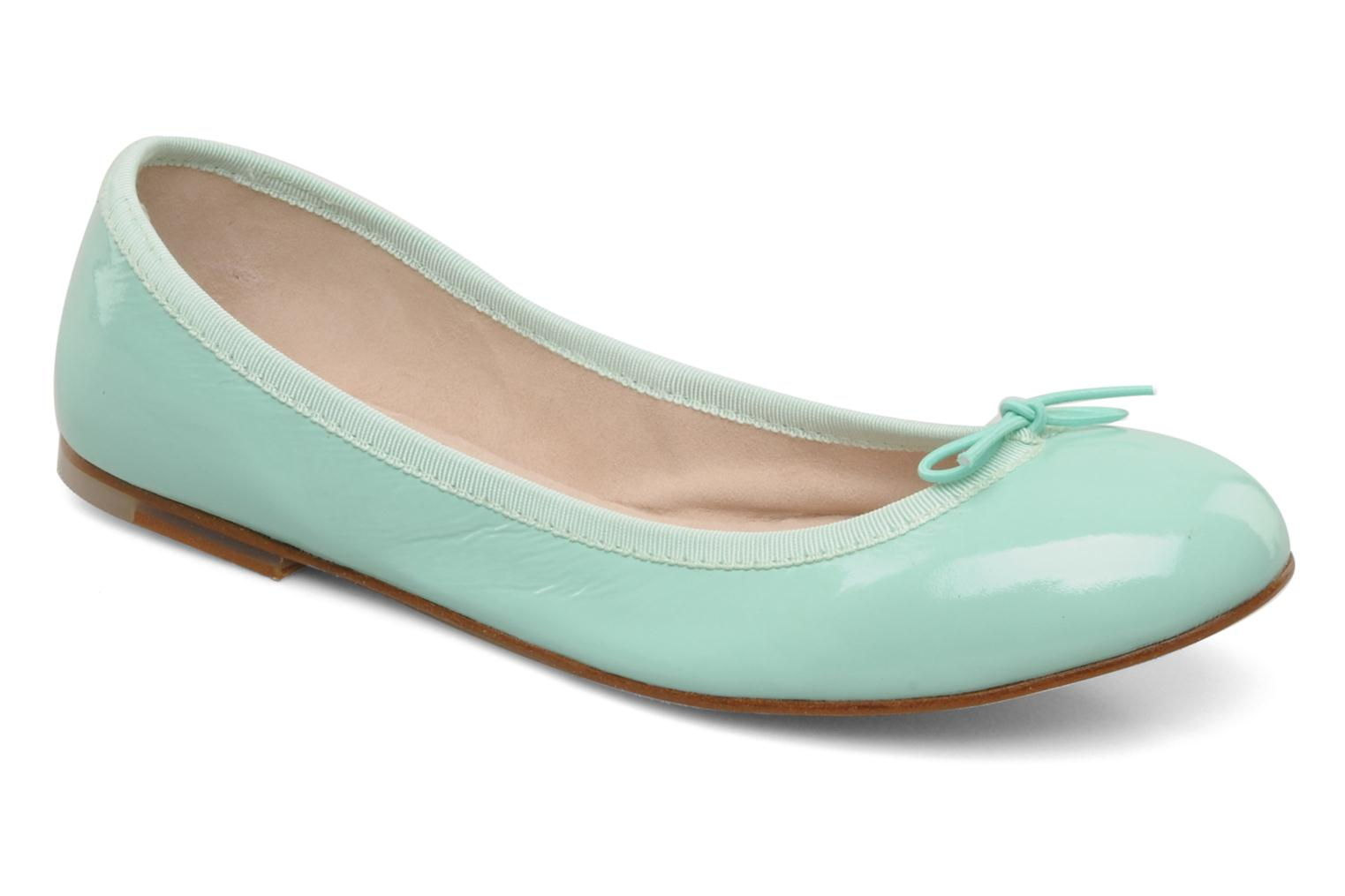Patent ballerina BEACH GLASS (TURQUOISE CLAIR)