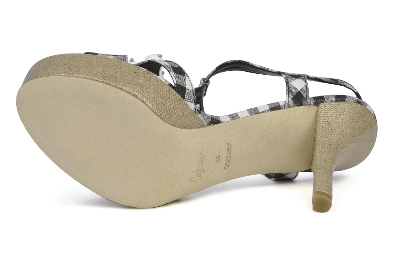 Sandali e scarpe aperte Castaner Missy Nero immagine dall'alto