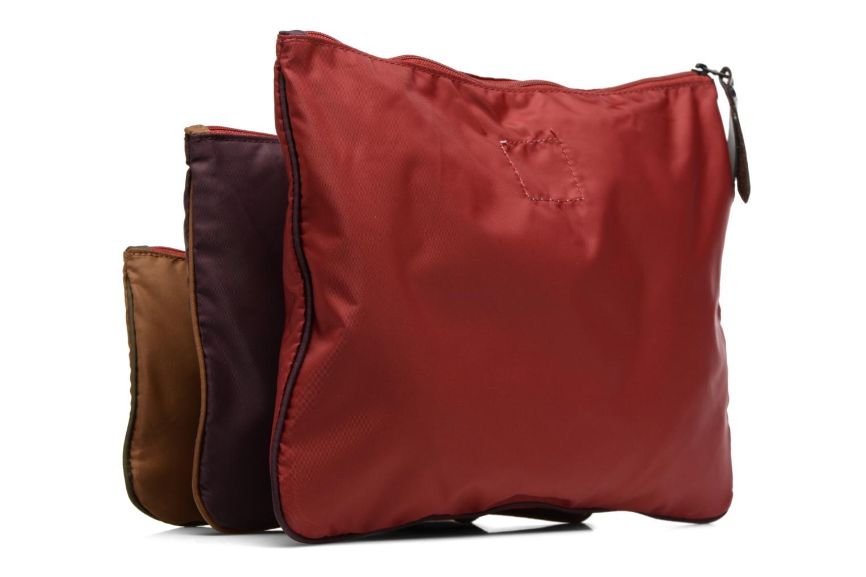 Sacs pochettes Bensimon Zipped pocket Multicolore vue droite