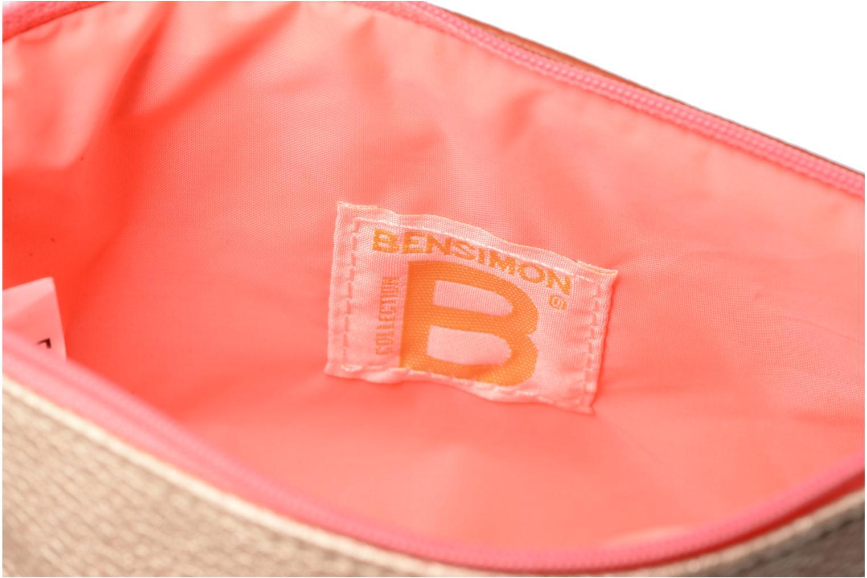 Sacs pochettes Bensimon Zipped pocket Beige vue derrière