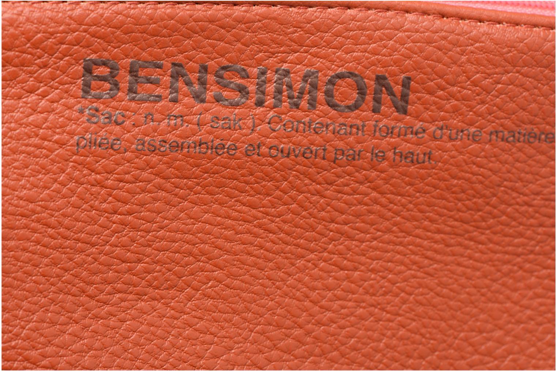 Sacs pochettes Bensimon Zipped pocket Beige vue gauche
