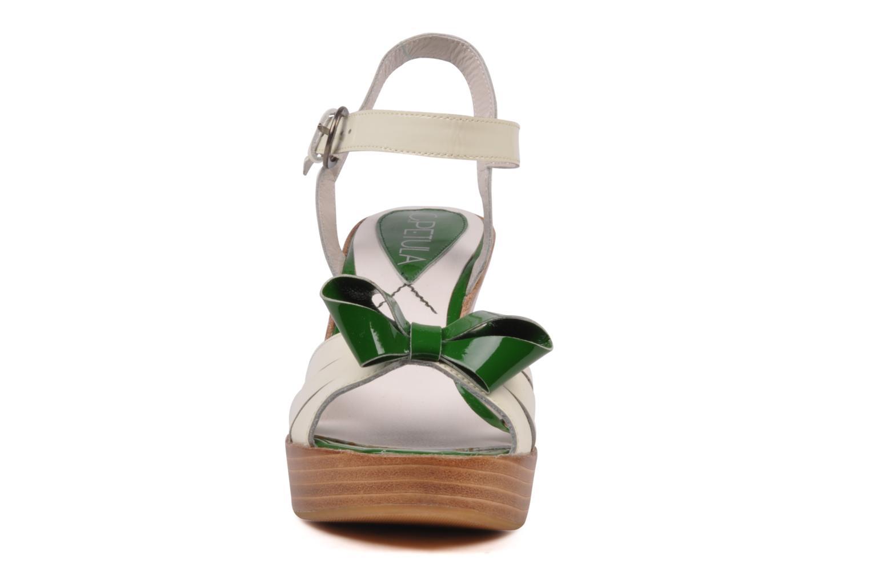 Sandales et nu-pieds C.Petula Pink lady Blanc vue portées chaussures