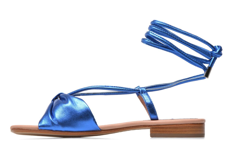 Sandales et nu-pieds C.Petula Rizzo Bleu vue face