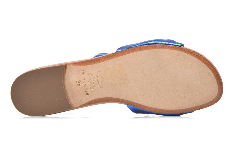 Sandales et nu-pieds C.Petula Rizzo Bleu vue haut