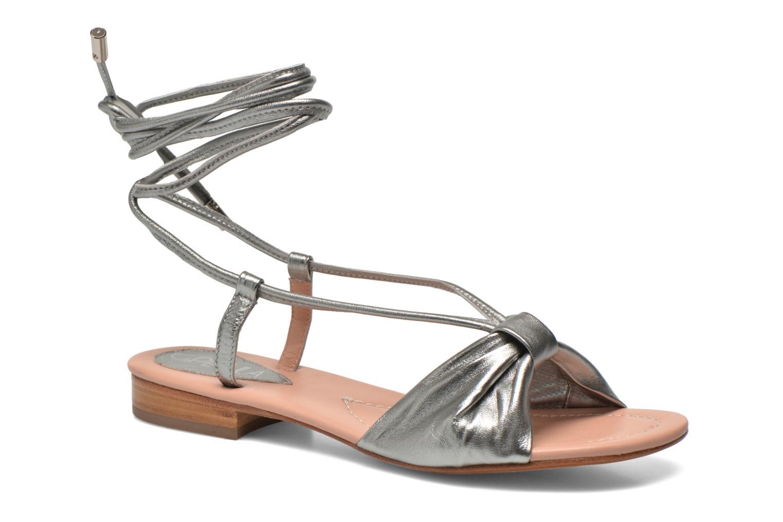 Sandales et nu-pieds C.Petula Rizzo Argent vue détail/paire