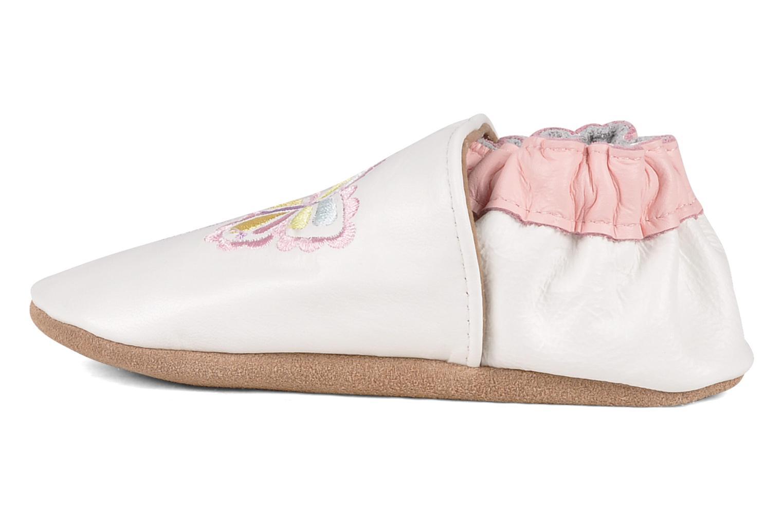 Pantofole Robeez Mini monarch Bianco immagine frontale