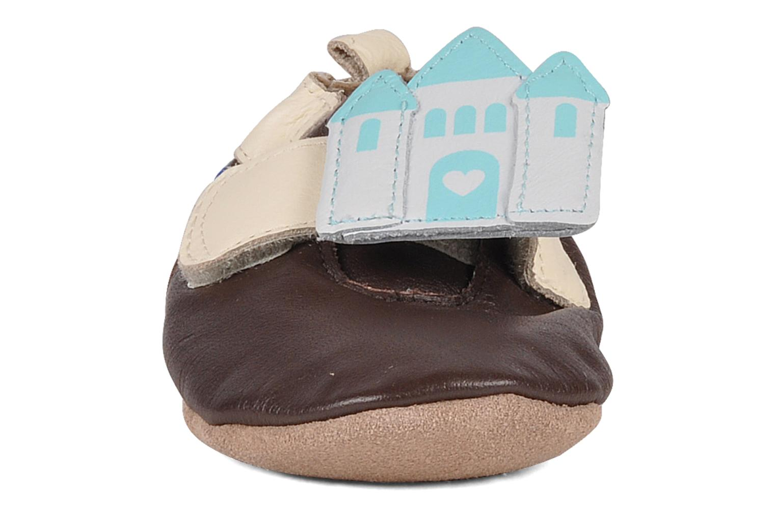 Slippers Robeez My fairy tale Brown model view