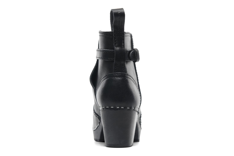 Boots en enkellaarsjes Swedish Hasbeens Jodhpur Zwart rechts
