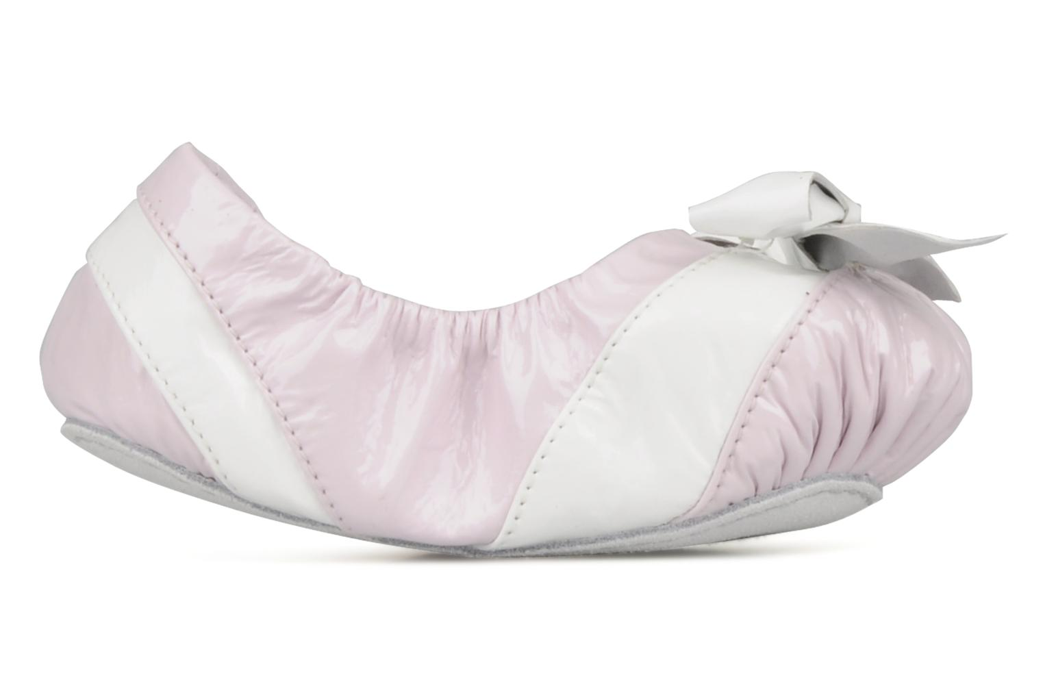 Slippers Bloch Louane Pink back view