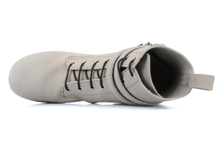 Bottines et boots Swedish Hasbeens Combat boot Gris vue gauche