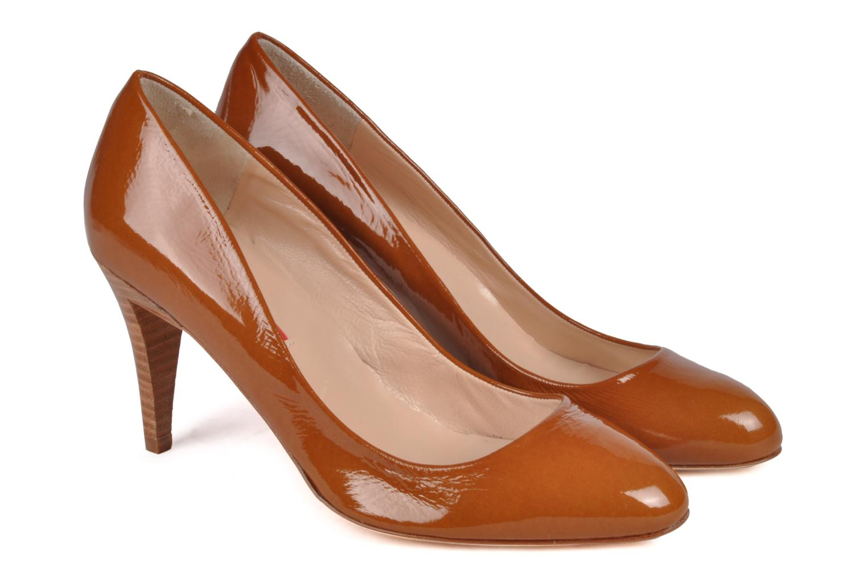 High heels Charles Jourdan Gabrielle 2 Brown 3/4 view