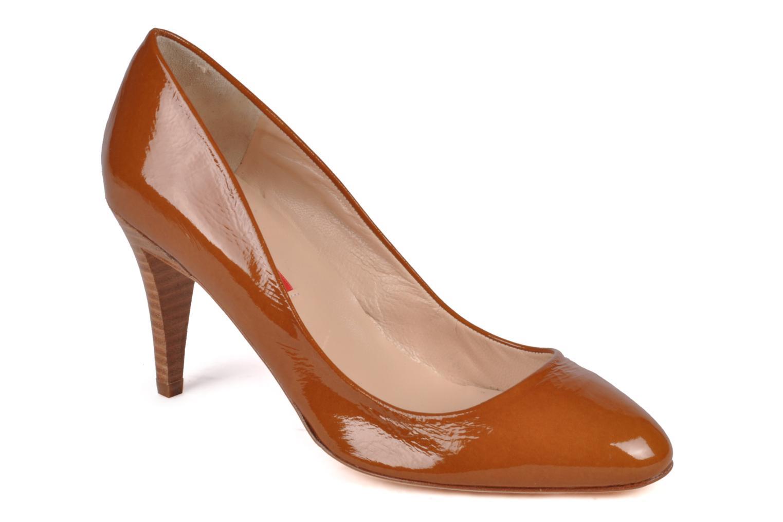 High heels Charles Jourdan Gabrielle 2 Brown detailed view/ Pair view