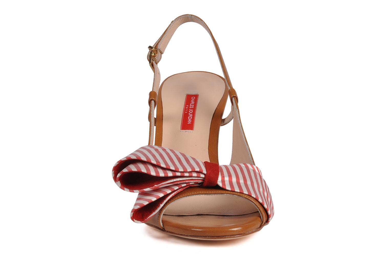 Sandals Charles Jourdan Scarlett Red model view