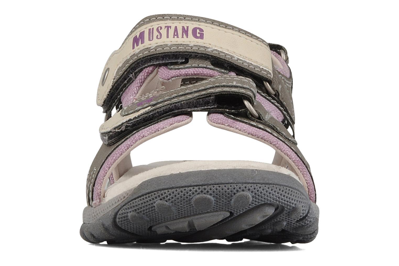 Sandales et nu-pieds Mustang shoes Peyo Gris vue portées chaussures