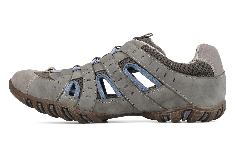 Sneaker Mustang shoes Raphaël grau ansicht von vorne