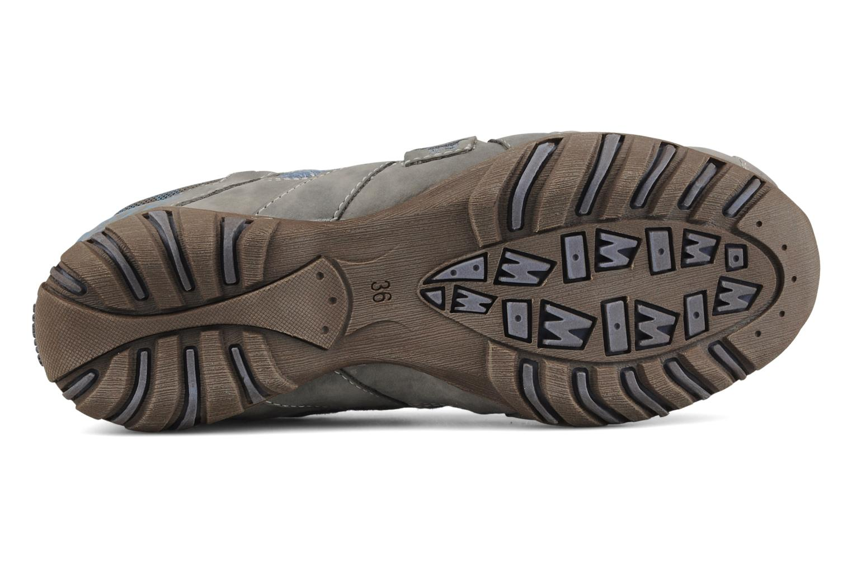 Sneaker Mustang shoes Raphaël grau ansicht von oben