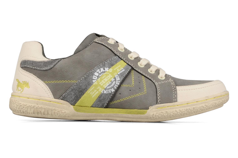 Sneakers Mustang shoes Koura Grijs achterkant
