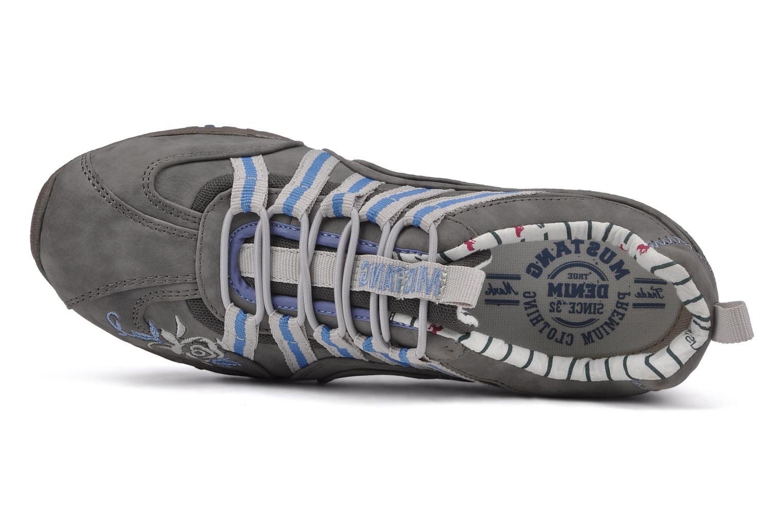 Sneakers Mustang shoes Laggi Grijs links