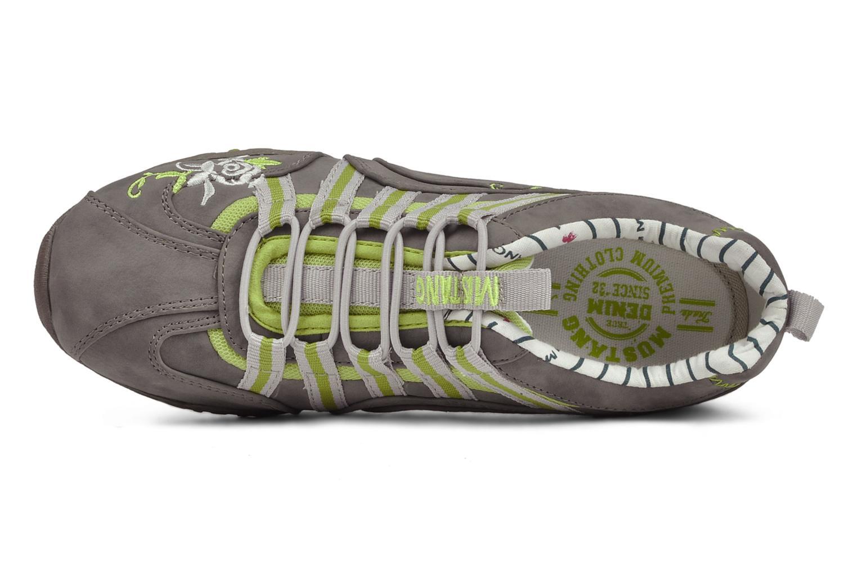 Sneaker Mustang shoes Laggi grau ansicht von links