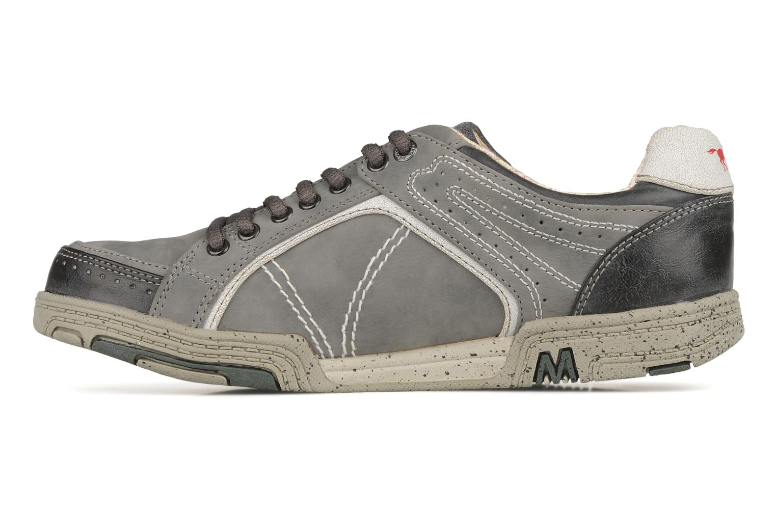 Trainers Mustang shoes Attelage 2 Grey front view